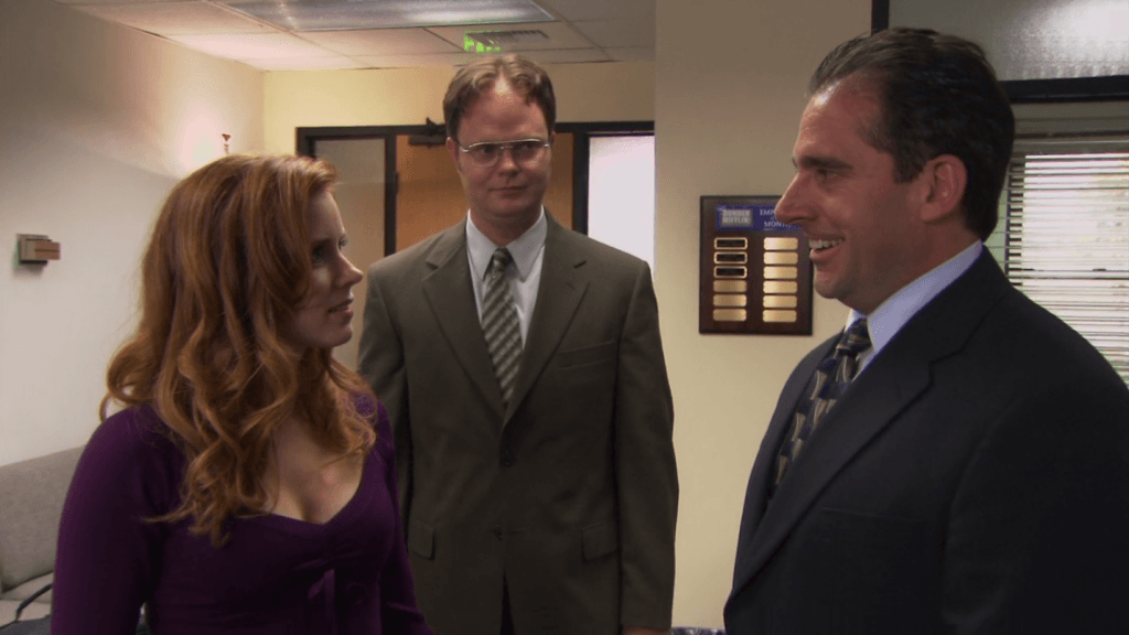 Amy Adams on The Office