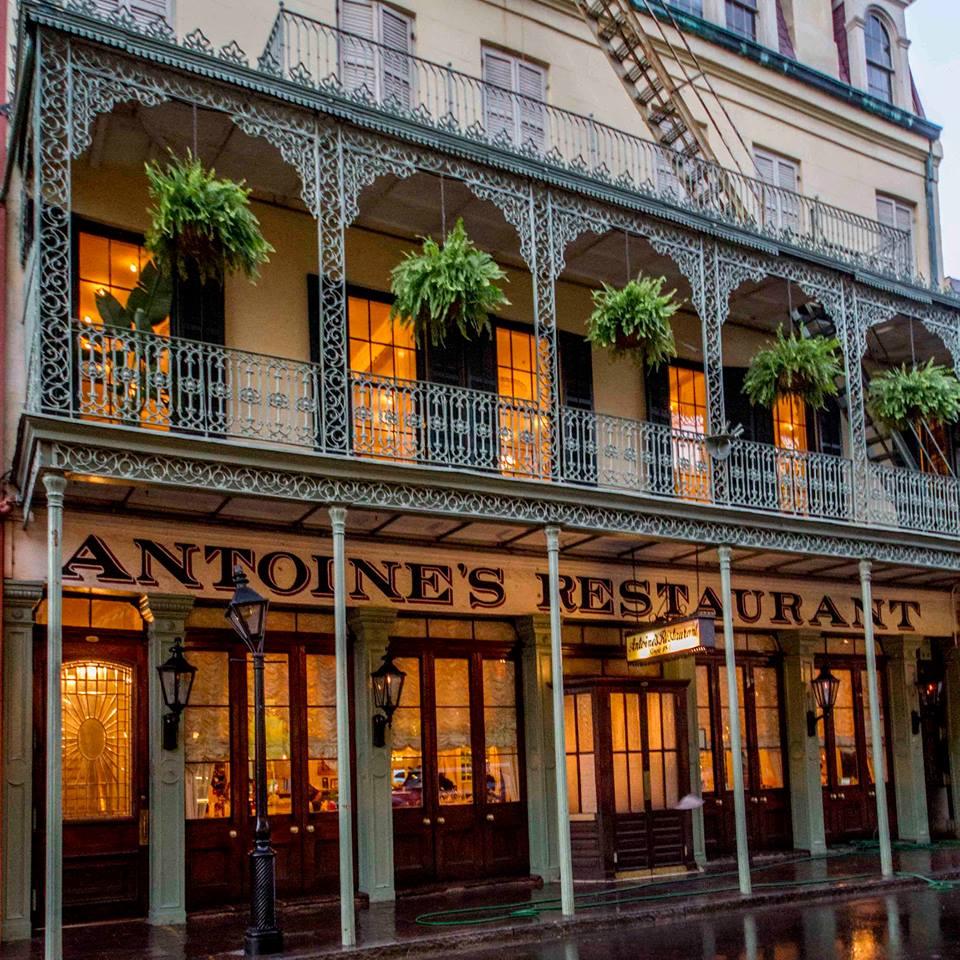 Antoine's Restaurant in Louisiana
