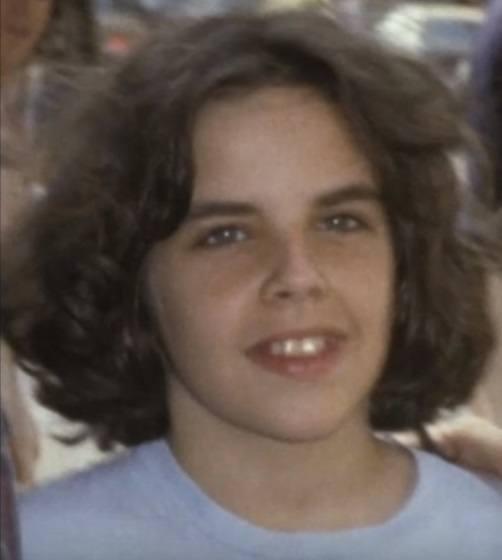 Actor Ben Stiller as a young boy