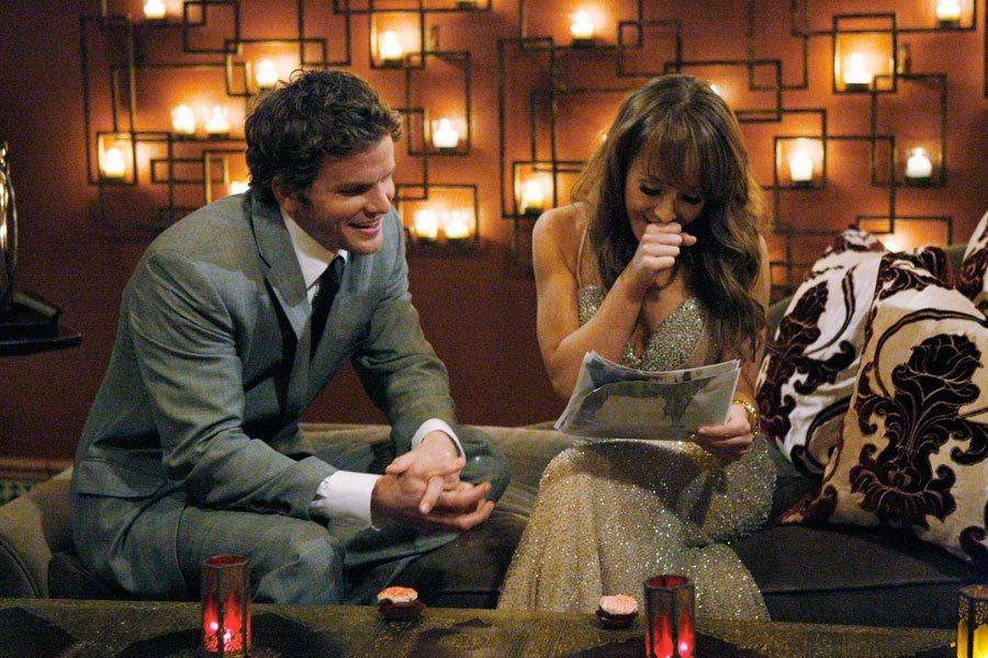 Bentley Williams and Ashley Hebert on The Bachelorette