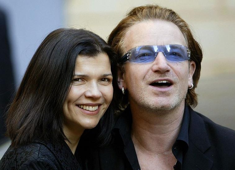 Bono and Alison Hewson