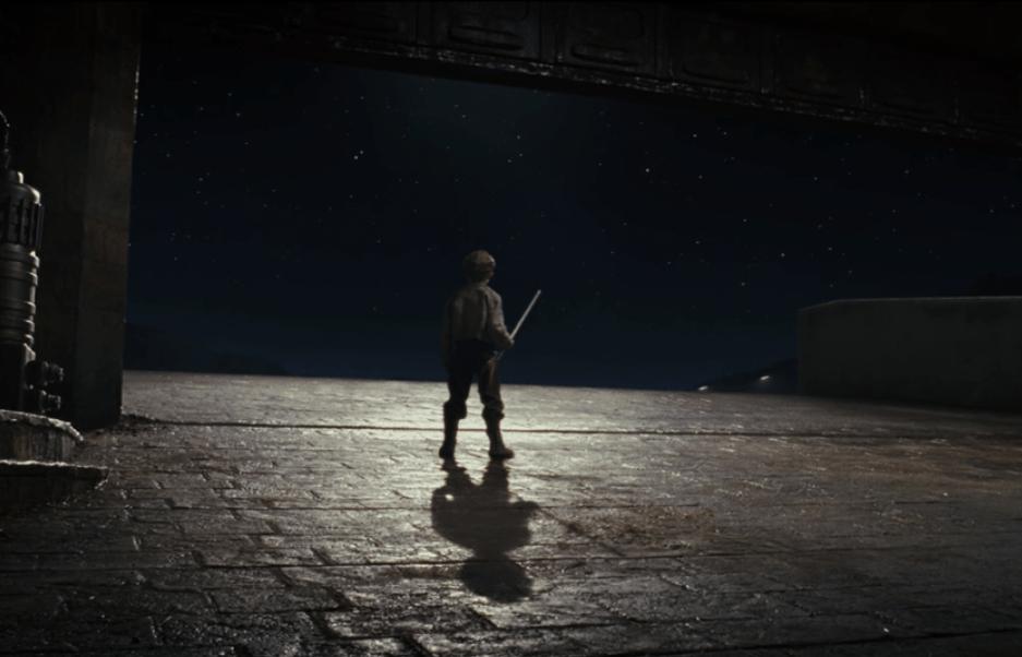 Temiri Blagg imagines himself as a Jedi