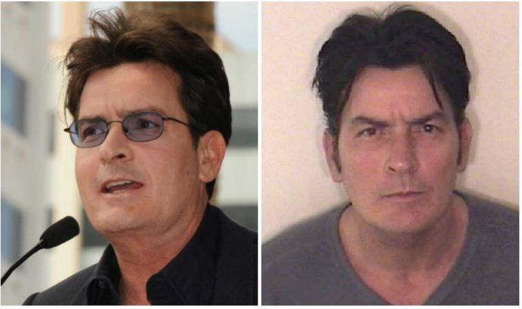 Charlie Sheen composite image