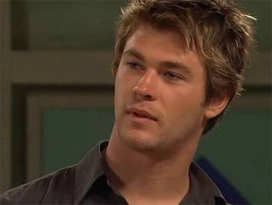 Chris Hemsworth in Home and Away