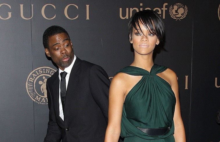 Comedian Chris Rock and singer Rihanna attends a reception to benefit UNICEF hosted by Gucci during Mercedes-Benz Fashion Week Fall 2008 at The United Nations on February 6, 2008 in New York City.