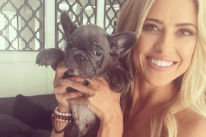 The Absolute Cutest Pictures of Christina El Moussa's French Bulldog