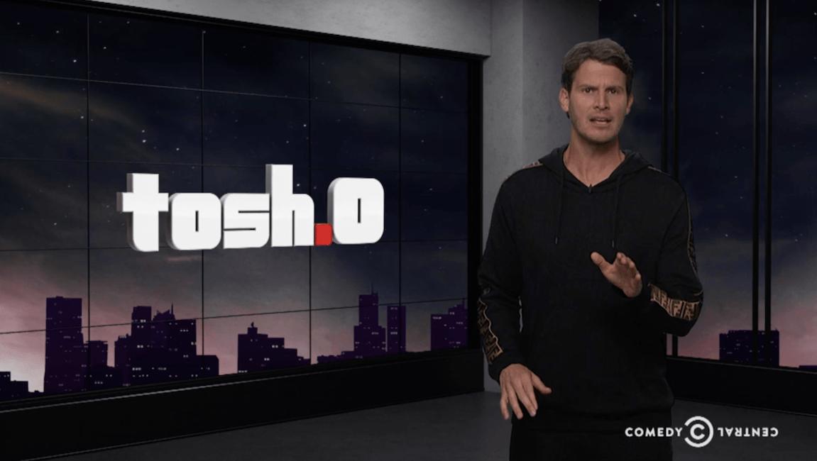O married tosh Daniel Tosh