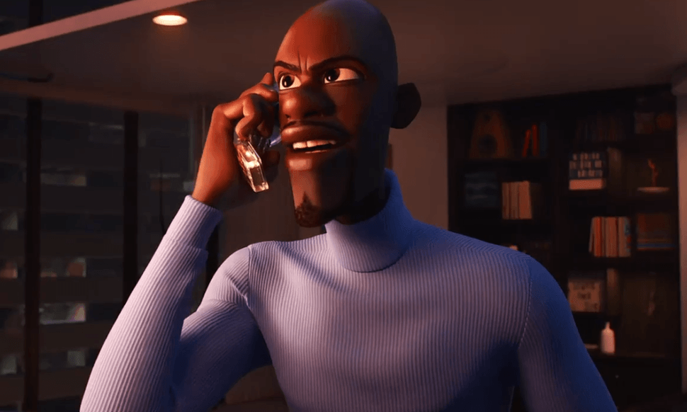 Frozone in Incredibles 2