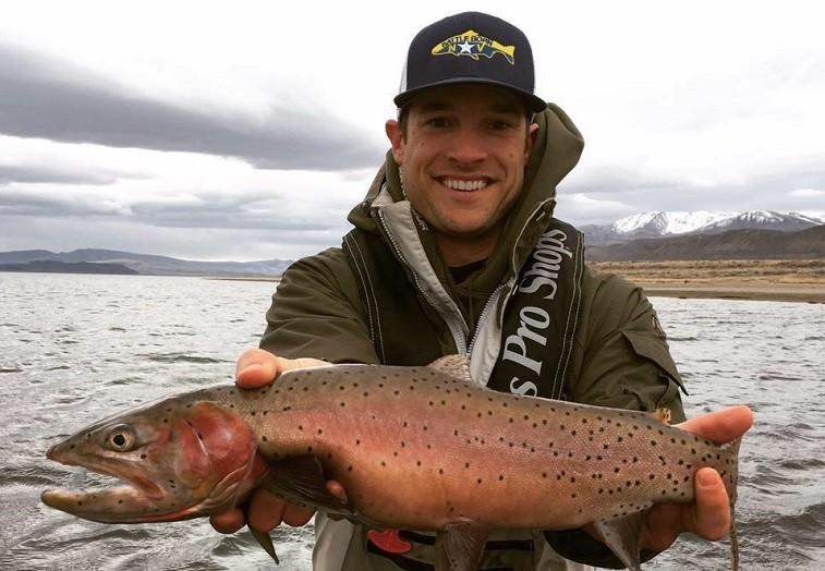 Garrett Yrigoyen fishing