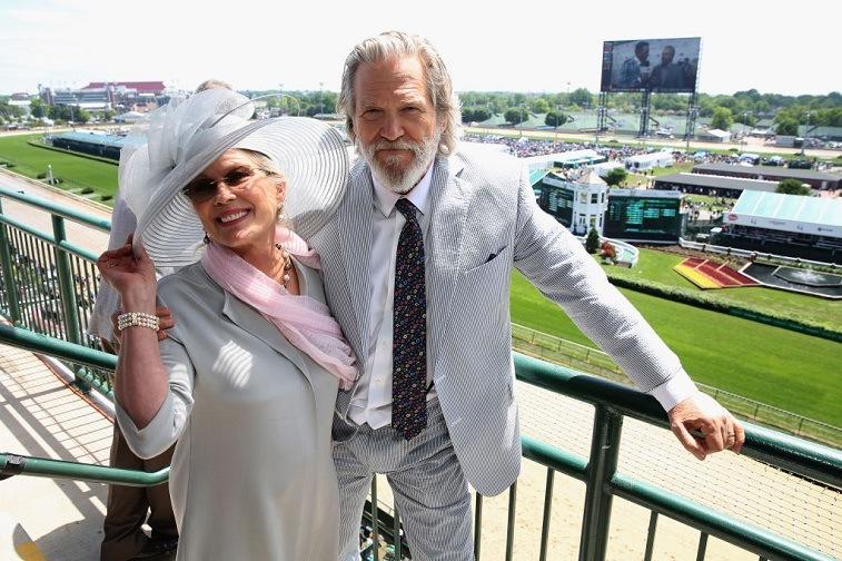 Susan Geston and Jeff Bridges
