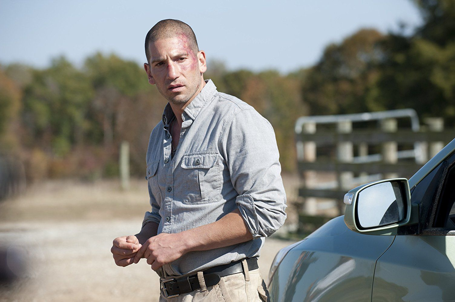 Jon Bernthal as Shane Walsh on The Walking Dead