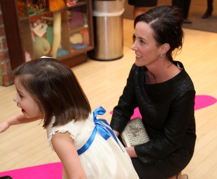Frances Beatrix Spade and designer Kate Spade attend the 18th annual Bunny Hop to benefit the Society of Memorial Sloan-Kettering Cancer Center at FAO Schwartz on March 3, 2009 in New York City.