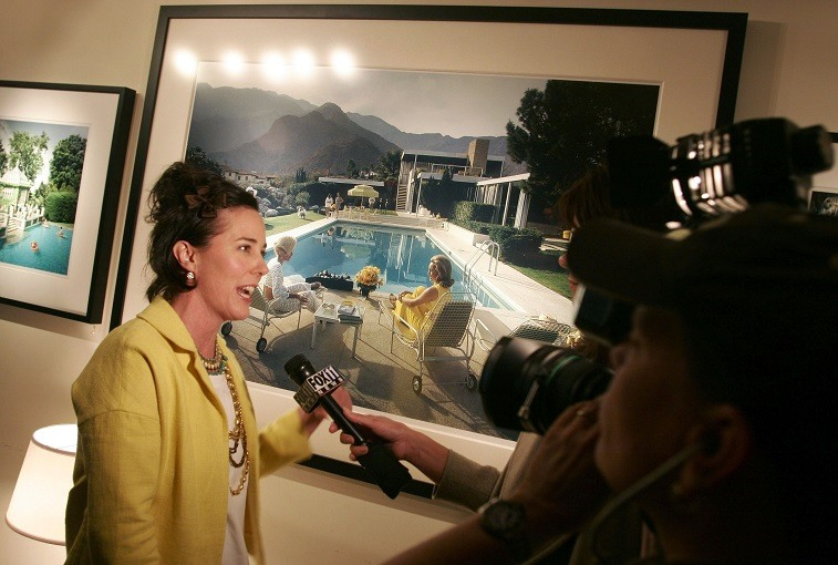 Curator Kate Spade attends a gallery exhibition of photographer Slim Aarons' work curated by Kate Spade at Fred Segal Cafe on February 16, 2006 in Los Angeles, California.
