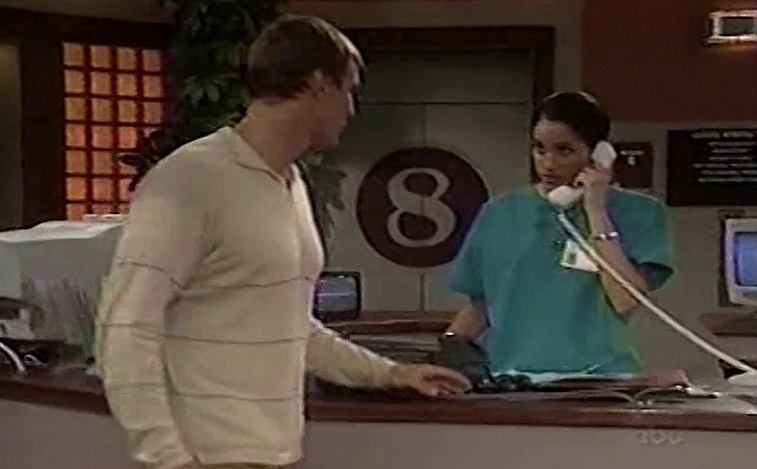 Meghan Markle as Nurse Jill on General Hospital