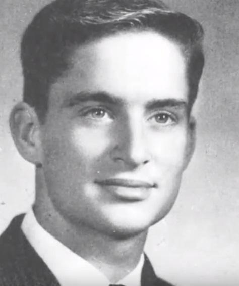 Michael Douglas' yearbook picture
