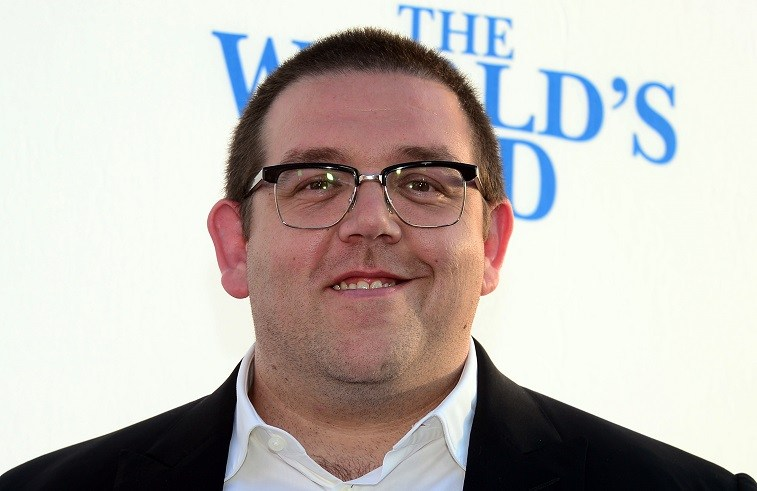 Actor Nick Frost poses on arrival for the L.A. Premiere of the film 'The World's End' in Hollywood, California, on August 21 2013.