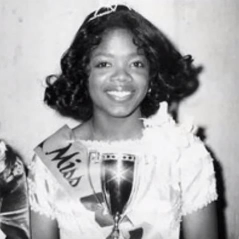 Oprah Winfrey as a child