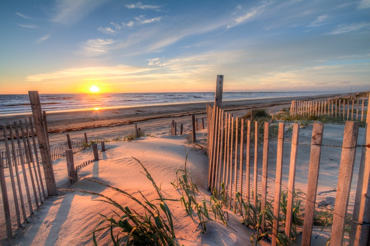 The beach in Outer Banks, North Carolina