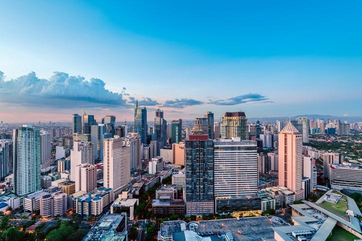 Manila, Philippines, skyline