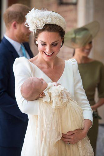 Kate Middleton with Prince Louis
