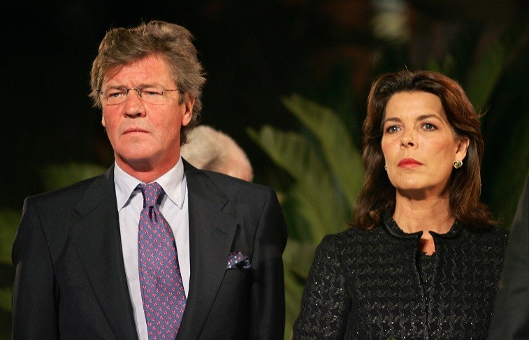 Princess Caroline of Monaco-Hanover and her husband Prince Ernst August of Hanover, attend the official inauguration late 07 October 2005 of the Monte-Carlo Bay Hotel & Resort.