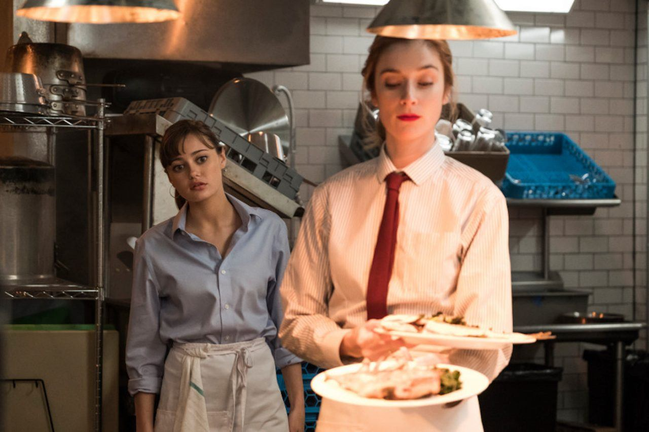 Caitlin FitzGerald and Ella Purnell on Sweetbitter