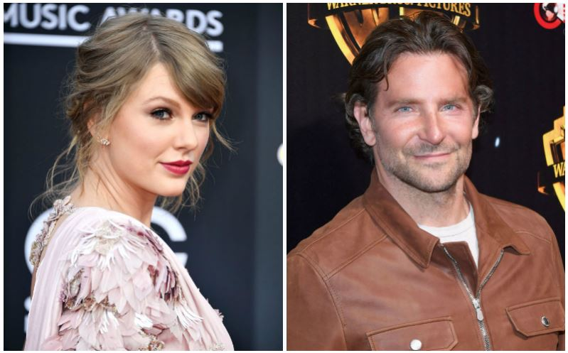Taylor Swift and Bradley Cooper composite image