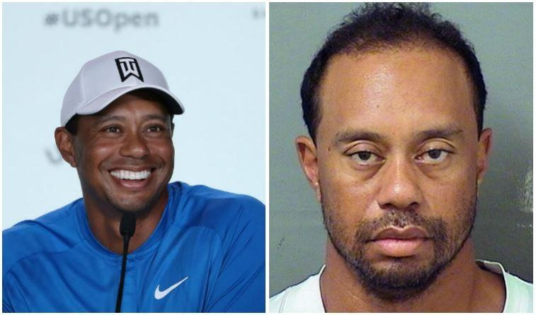 Tiger Woods composite image