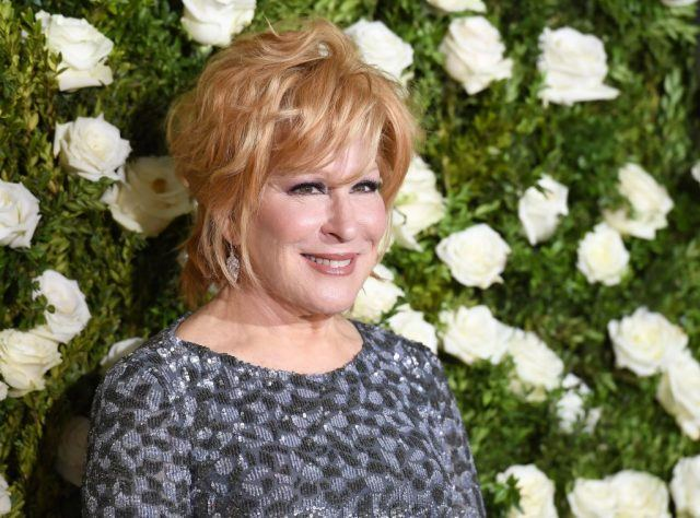 Bette Midler attends the 2017 Tony Awards