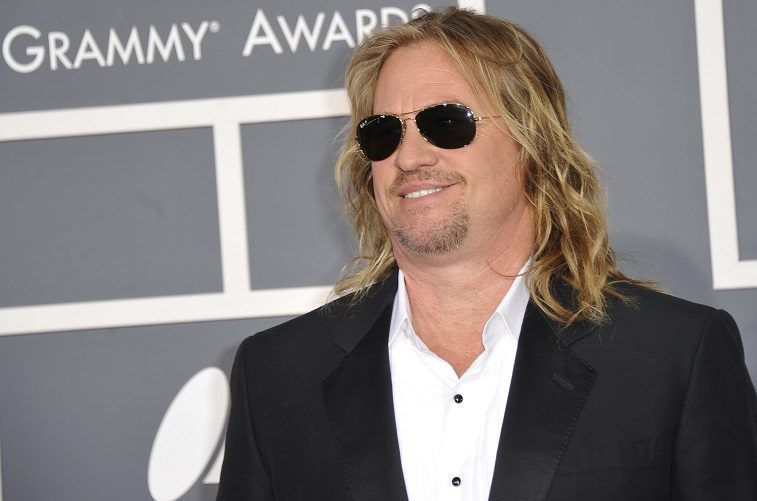 Val Kilmer arrives at the Staples Center for the 54th Grammy Awards in Los Angeles, California, February 12, 2012