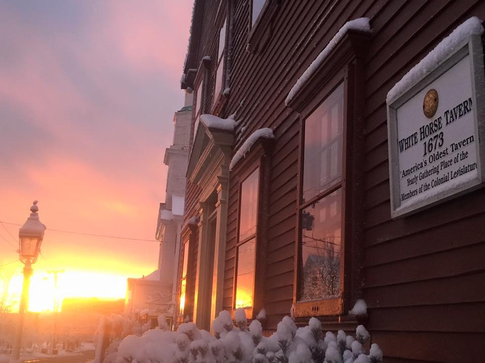 White Horse Tavern in Rhode Island
