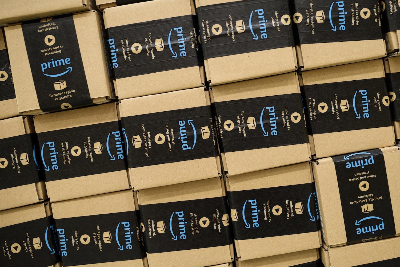 An Amazon Fulfilment Centre Prepares For Black Friday
