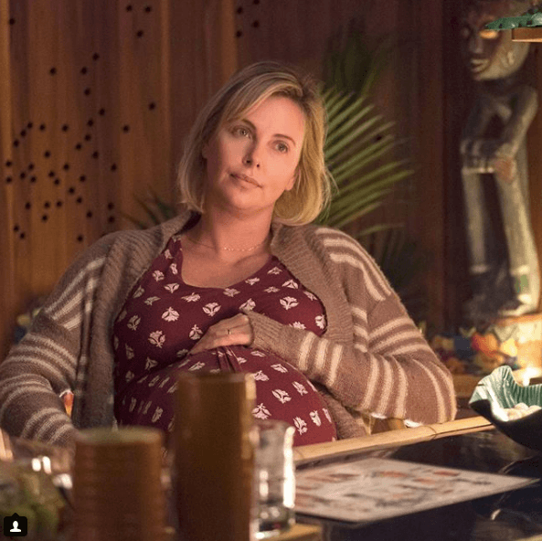 """Charlize Theron in the film """"Tully"""""""