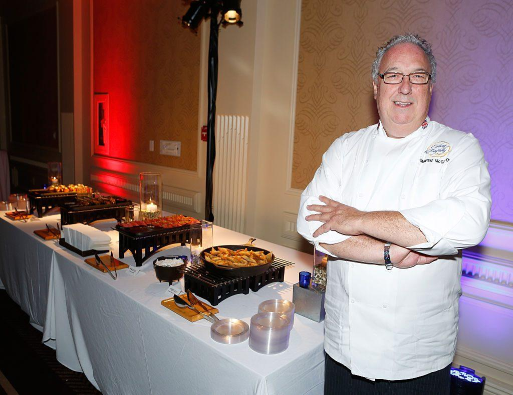 Darren McGrady, chef for the royal family