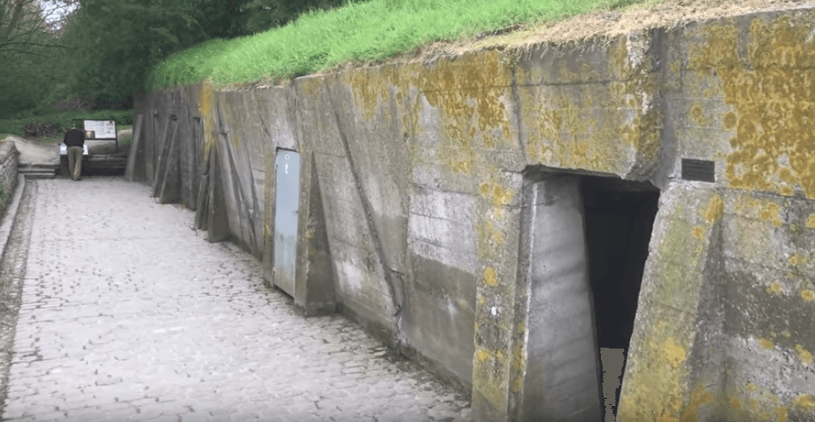 Dressing station from WWI