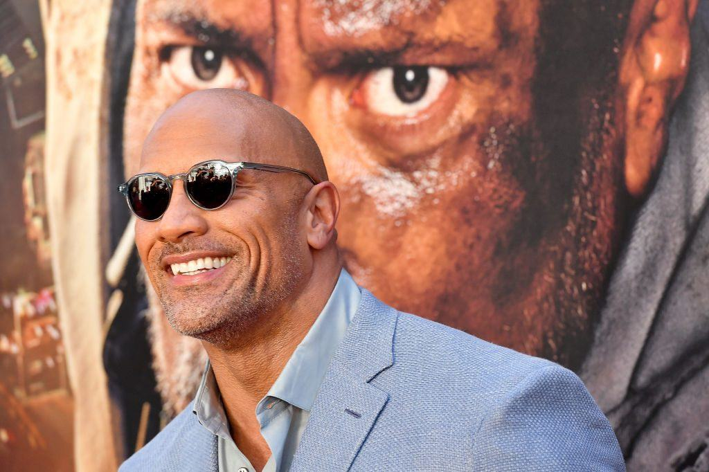 The Rock's new role as Willy Wonka