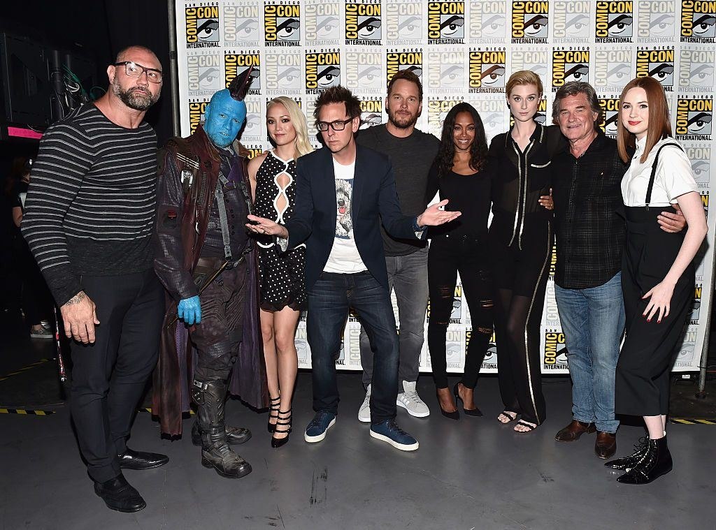 The Guardians of the Galaxy cast