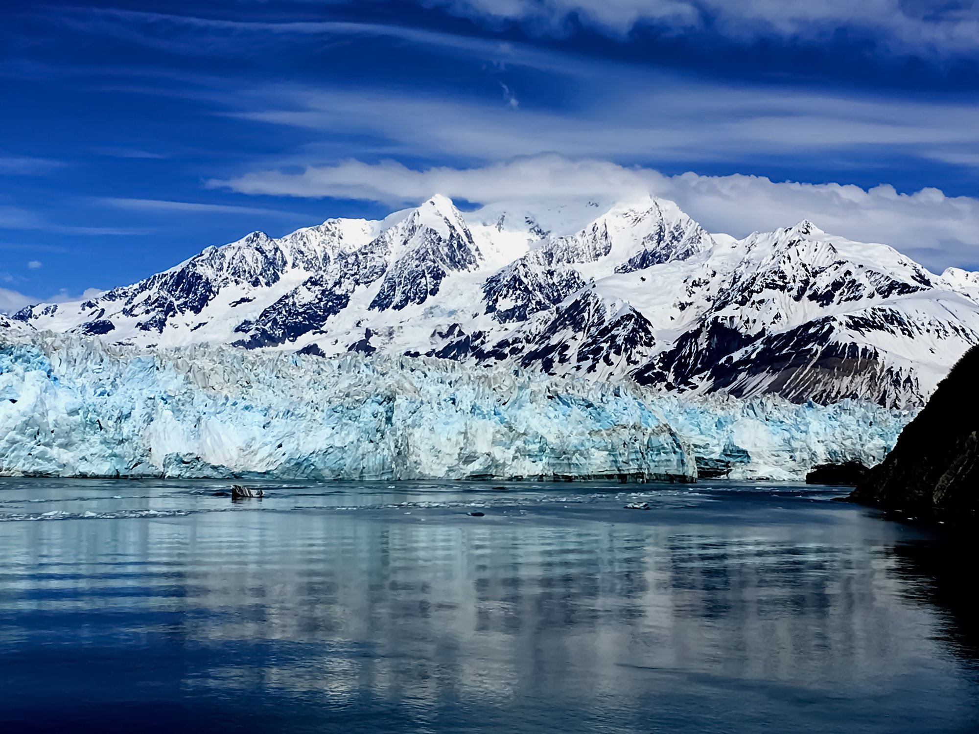 Hubbard Glacier Alaska, most sprawling American cities