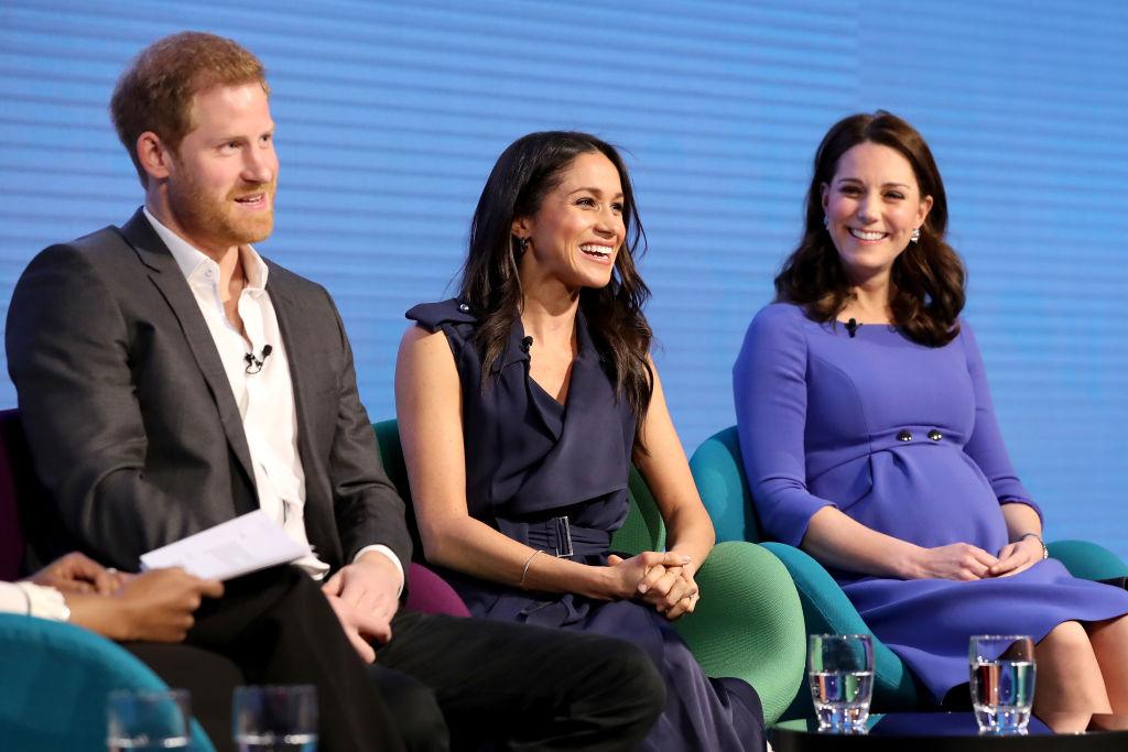 Prince Harry, Meghan Markle, and Kate Middleton