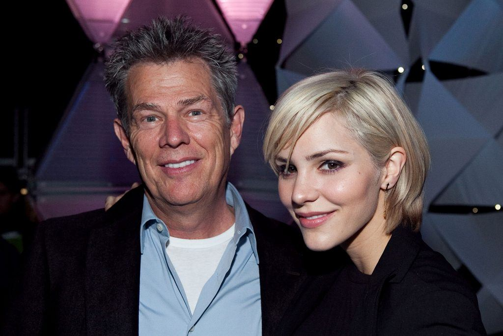 David Foster and Katharine McPhee in 2009