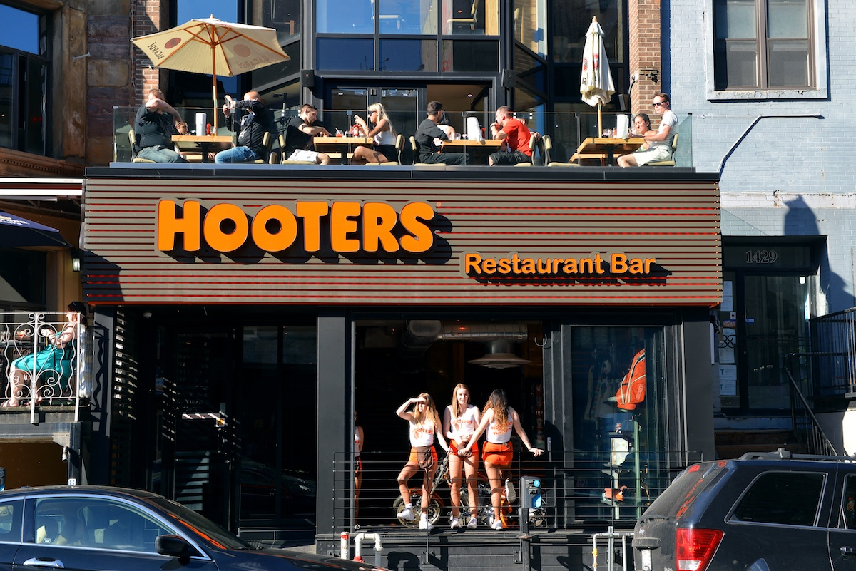 Hooters on Crescent Street in Montreal