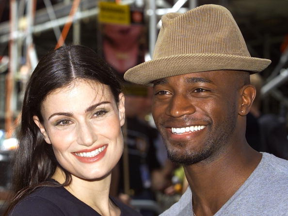 Taye Diggs and Idina Menzel in 2003