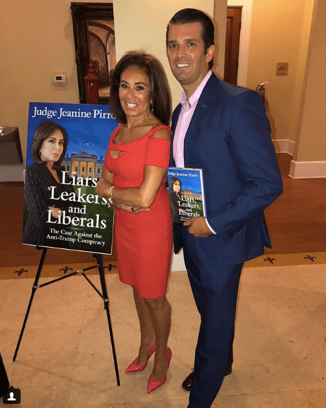 Jeanine Pirro and Donald Trump Jr.