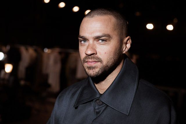 Jesse Williams attends Paris Fashion Week