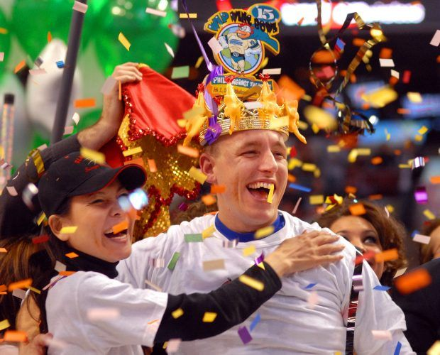 """Annual """"Wing Bowl"""" Honors Super Bowl Gluttony"""