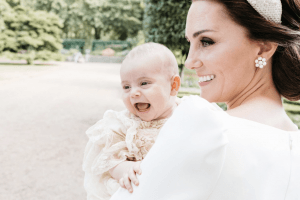 These Photos From Prince Louis' Christening Will Take Your Breath Away