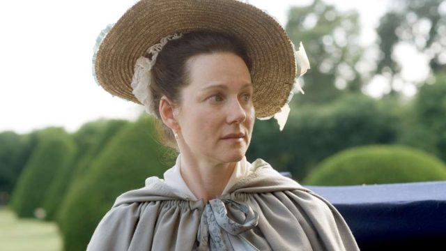 "Laura Linney as Abigail Adams In ""John Adams"""