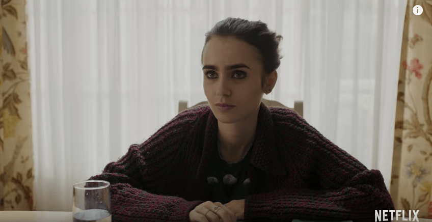 """Lily Collins in """"To the Bone"""""""
