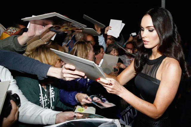 Megan Fox attends the Underground Event Screening of Paramount Pictures' 'TEENAGE MUTANT NINJA TURTLES'