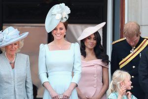 Why Does Meghan Markle Have to Stand Behind Kate? Royal Family Etiquette Rules the Duchess Must Follow